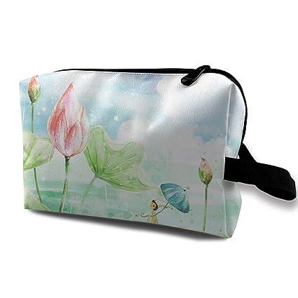 Bolsas de cosméticos de Viaje Lotus Travel Portable Bolsa de ...