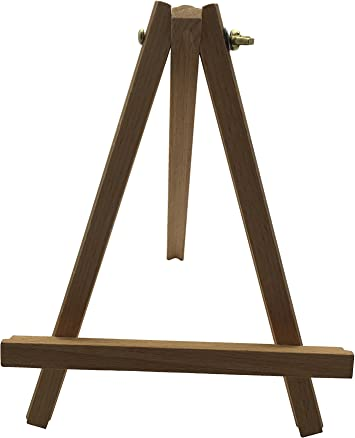 JANRAX 23cm Wooden Display Easel - Poster Canvas Art, Retail Product Wood Stand