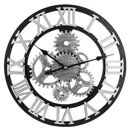 Searchyou Horloge Murale Geante 58cm Xxxl Grosse