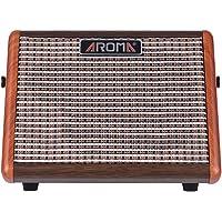 Muslady Akustische Gitarre Verstärker Amp AROMA AG-15A 15W Tragbar BT Redner Eingebaut Wiederaufladbare Batterie mit Mikrofonschnittstelle