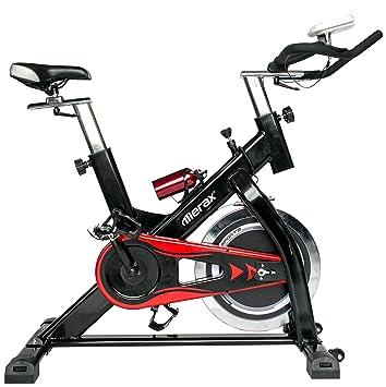 merax® Pro centrifugado bicicleta bicicleta estática. Volante de ...