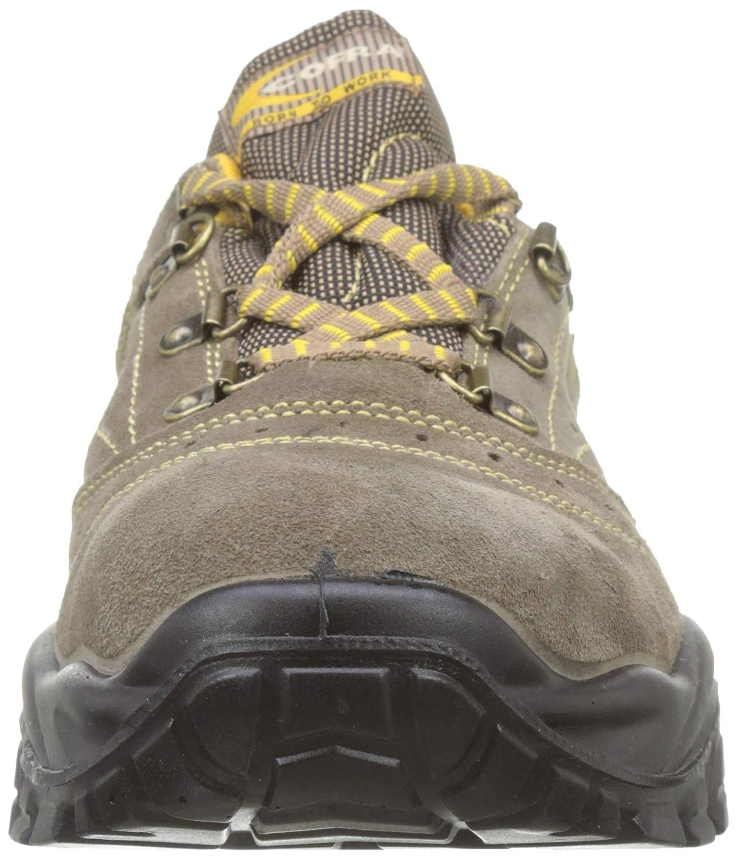 39 Beige//Amarillo Cofra New Nilo S1 P SRC Zapatos de Seguridad