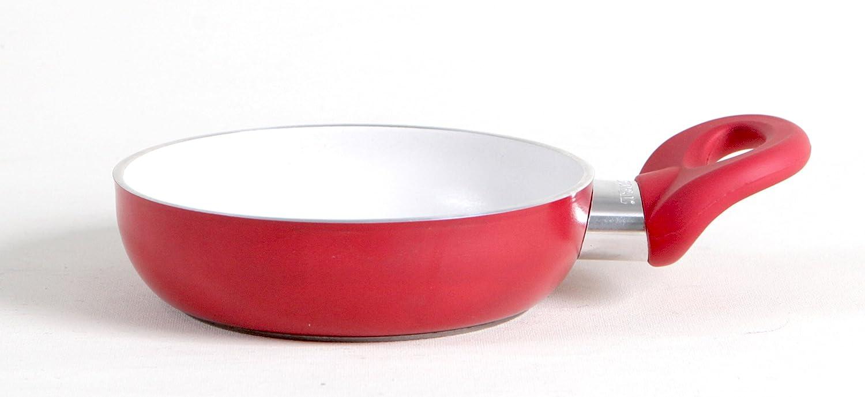 Pensofal Bioceramix Red Sartén, Aluminio, Baquelita, Acero Inoxidable, Rojo, 14 cm: Amazon.es: Hogar