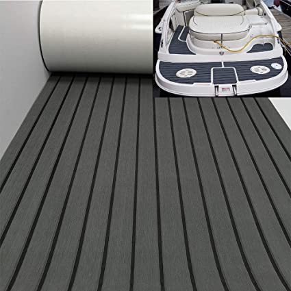 Victool Yacht Decking Eva Teak Decking Sheet Bootsboden Fit f/ür Yacht