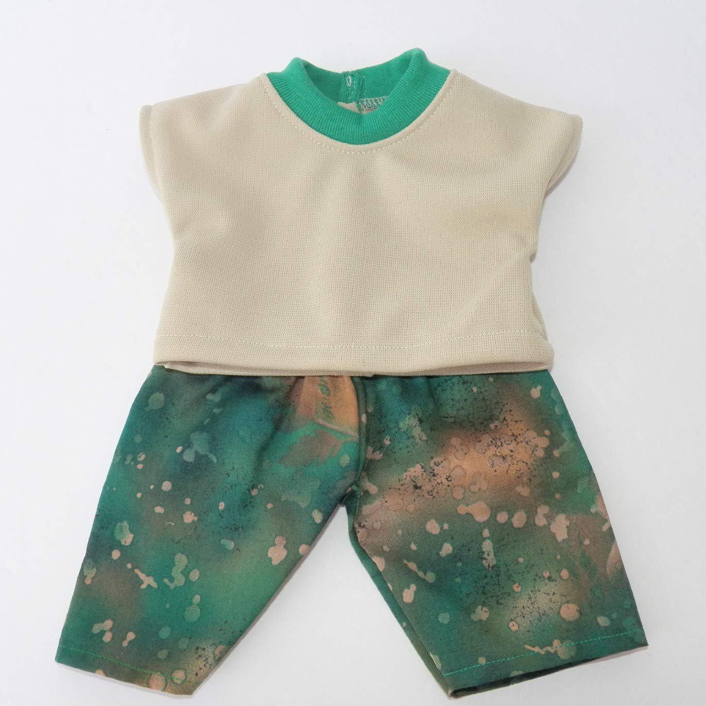 Cabbage Patch Doll Clothes 14 Boy or Preemie Size Green Fall Pants Outfit Clothes Only