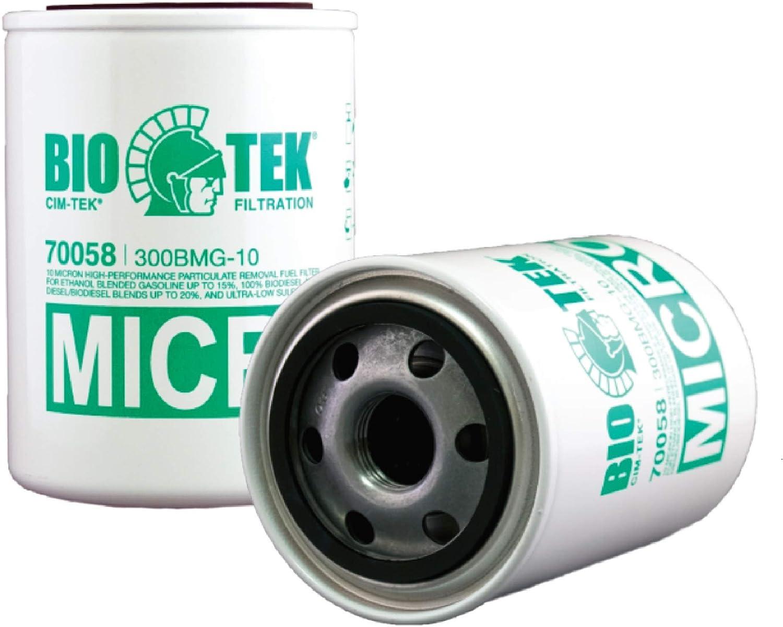 "NEW Clim-Tek Fuel Pump Filter 70010 10 Micron 3//4/"" Flow"