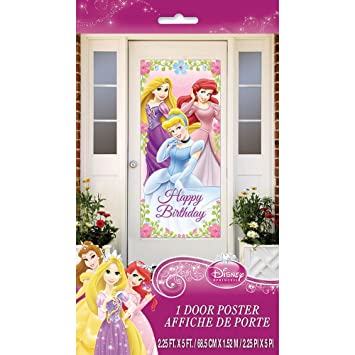 Disney Princess Door Poster - Holiday and Party Supplies  sc 1 st  Amazon.com & Amazon.com: Disney Princess Door Poster - Holiday and Party ...