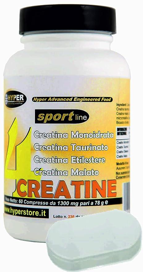 Tabletas de Creatina | Puerto libre de pastillas | 4 tipos de taurinato de creatina,