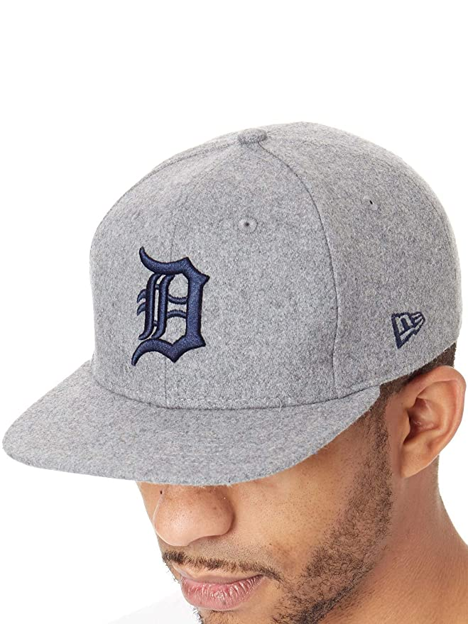 New Era Hats 9FIFTY Detroit Tigers Snapback Cap - Winter Utility Melton -  Grey  New Era  Amazon.co.uk  Clothing 9758dc169b0a