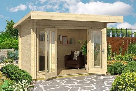 Jardín Casa G167 con soporte suelo – 44 mm listones hogar, superficie: 7,90 M², Pult techo: Amazon.es: Bricolaje y herramientas