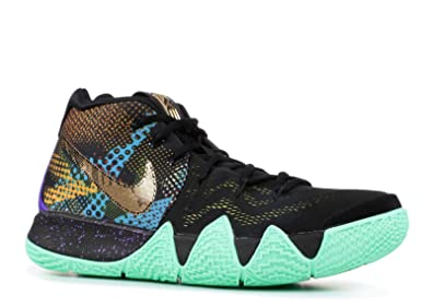 6e834092e97 Image Unavailable. Image not available for. Color  Nike Kyrie 4 Mamba Mens  Basketball-Shoes AV2597-001 11 - Black Sonic Yellow