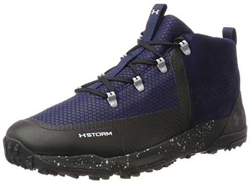 UA Burnt River 2.0 Mid, Zapatos de Low Rise Senderismo para Hombre, Azul (Midnight Navy), 44 EU Under Armour