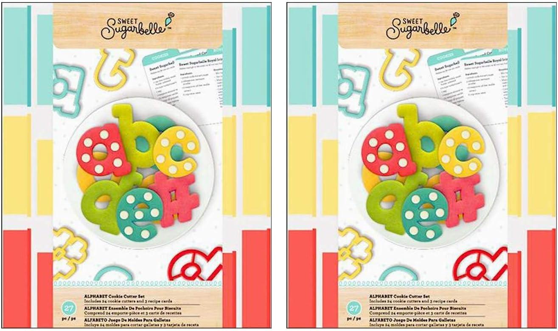 American Crafts AMC341968 Sugarbelle Cutter Alphabet Set