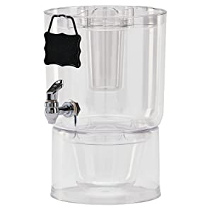 Buddeez 14401C-ONL Party Top New Beverage Dispenser 1.75 gallon Clear