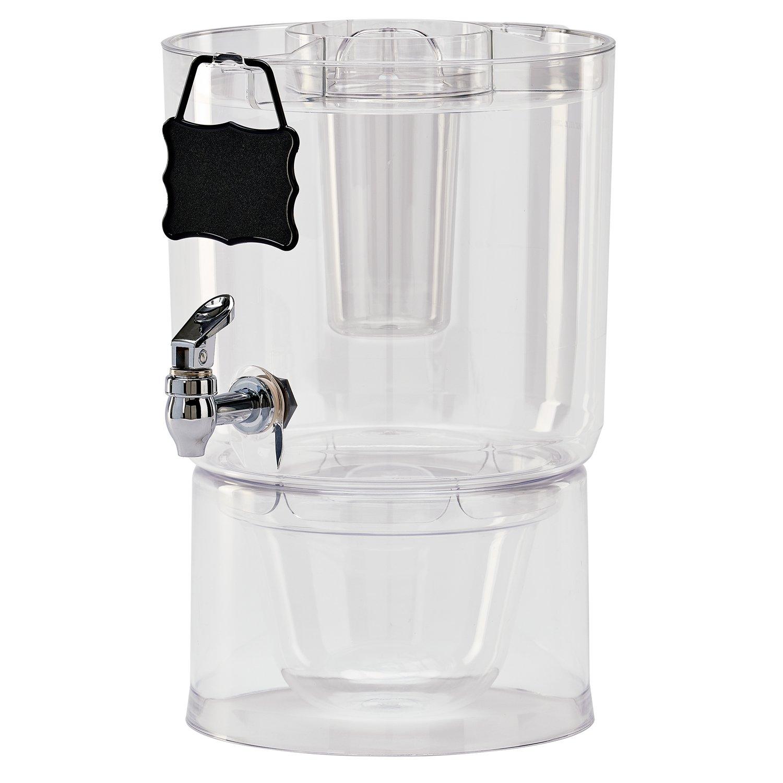 Buddeez 14401C-ONL Party Top New Beverage Dispenser, 1.75 gallon, Clear