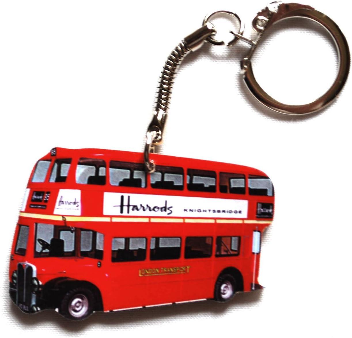 London Bus Harrods Deluxe Fridge Magnet LS15