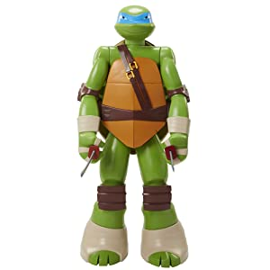 "Big Figs Colossal 48.5"" Figure with Storage & 2 Ninja Swords – Leonardo"