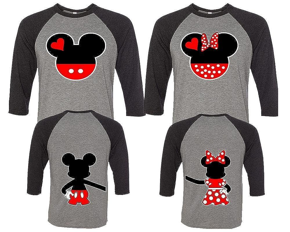 7d7b381868 Amazon.com: Mickey and Minnie Couple Shirts, Matching Couple Shirts, Disney  Shirts, King And Queen Shirts: Clothing