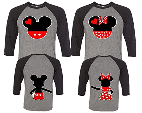 d652f3d106d5 Amazon.com: Mickey and Minnie Couple Shirts, Matching Couple Shirts, Disney  Shirts, King and Queen Shirts: Clothing