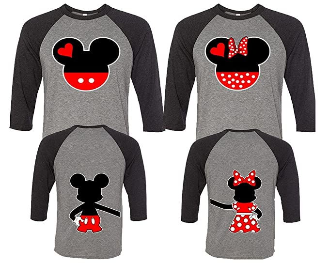 a0c091d4e2 Amazon.com: Mickey and Minnie Couple Shirts, Matching Couple Shirts, Disney  Shirts, King And Queen Shirts: Clothing