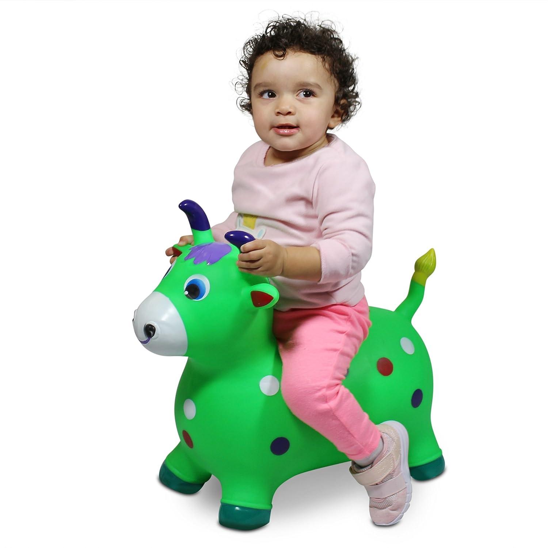 8d4fa9df9 Amazon.com  Lambader Ride-on animal Bouncy Horse Hopper Toys ...