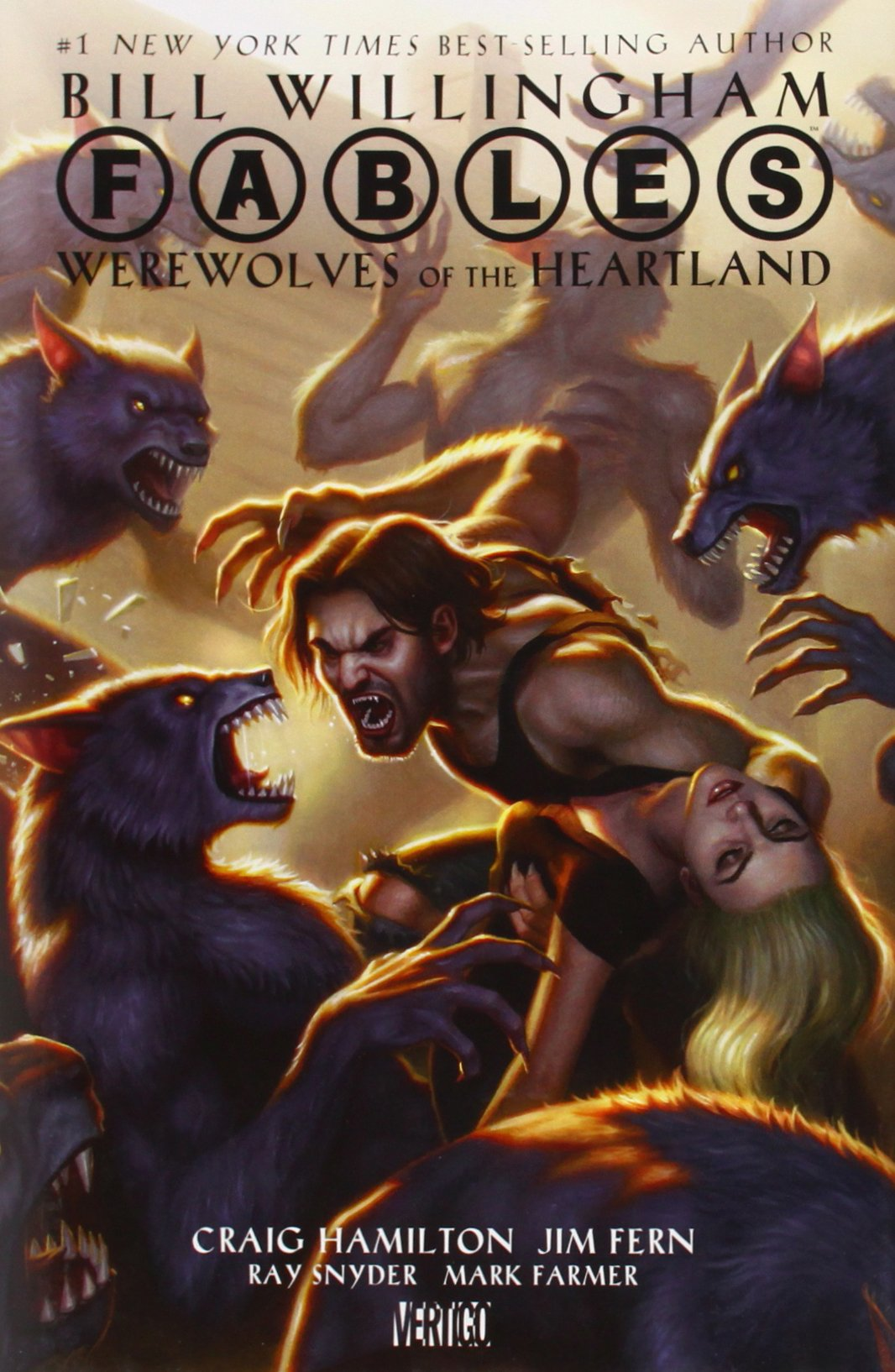 Fables Werewolves Heartland Graphic Novels