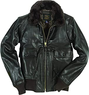 product image for Cockpit USA U.S. Navy Issue Mil Spec G-1 Leather Jacket