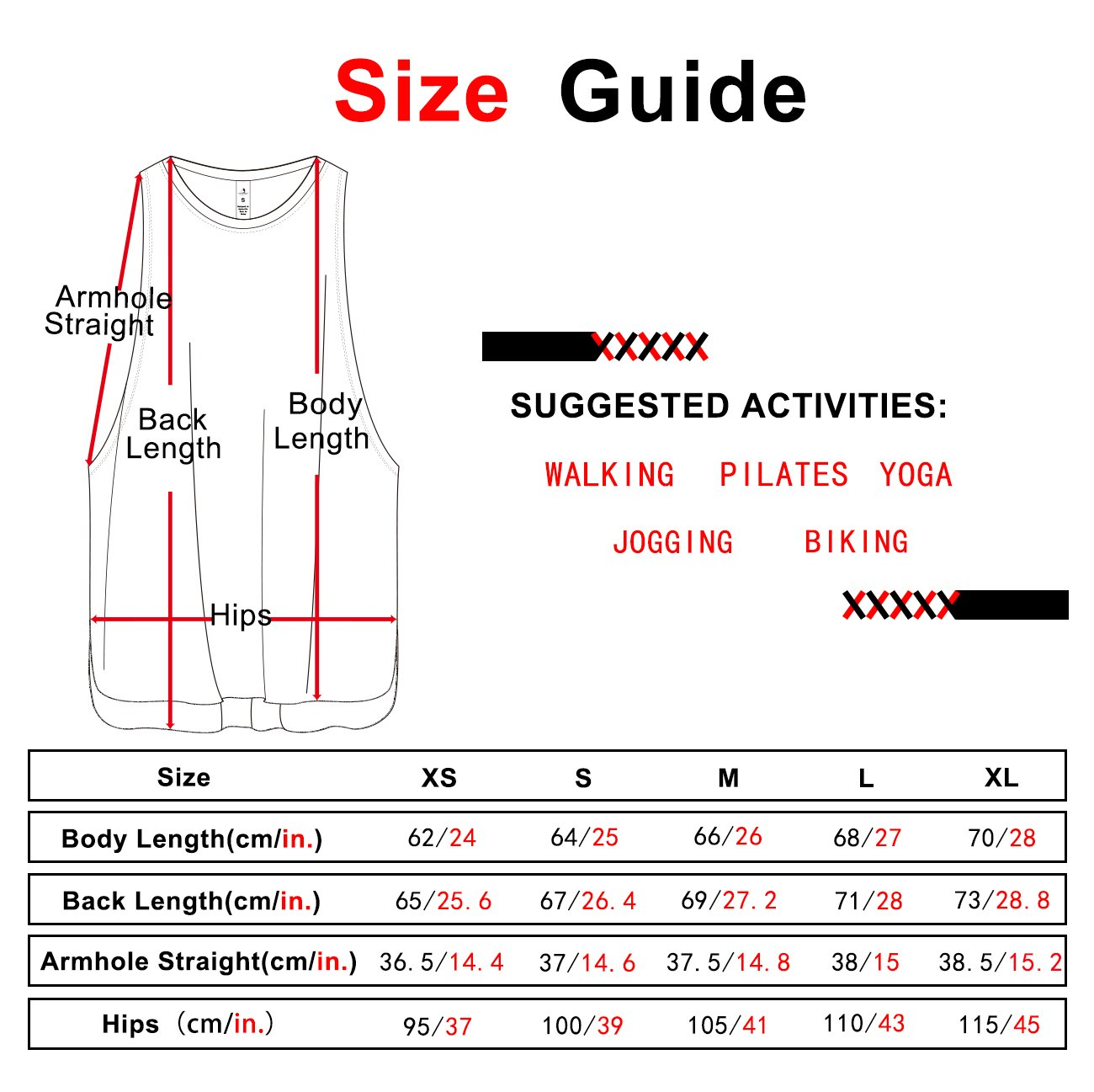 icyZone Yoga Tops Activewear Workout Clothes Sports Racerback Tank Tops for Women (L, Denim)