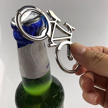 Abridor de botellas de cerveza de metal llavero de bicicleta ...