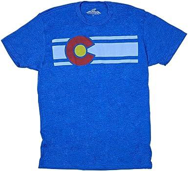 Colorado Limited hombres camiseta de para hombre de la bandera de Colorado: Amazon.es: Ropa y accesorios
