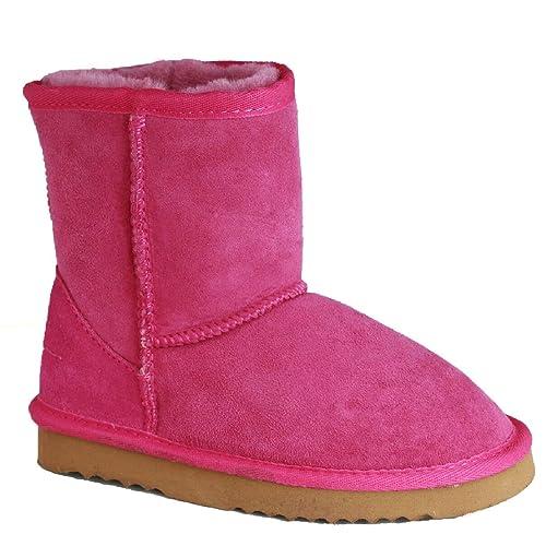 298c5db88 Eastern Counties Leather - Botas de Piel de Oveja Modelo Charlie para niños  (23)