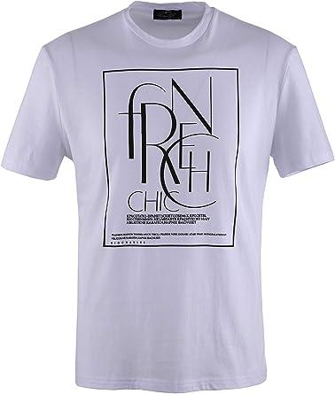 0136Voray Ga Camiseta Hombre algodón Estampado Dibujo Chic: Amazon.es: Ropa y accesorios