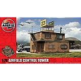 Airfix A03380 RAF Control Tower 1:76 Scale Series 3 Plastic Diorama Model Kit