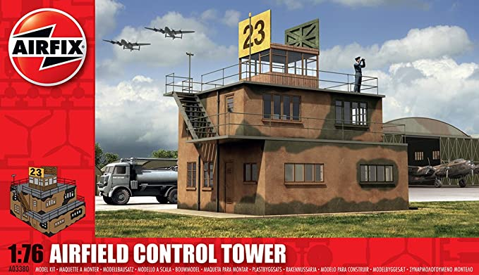 Airfix A03380 1:76 Scale RAF Control Tower Dioramas Classic Kit