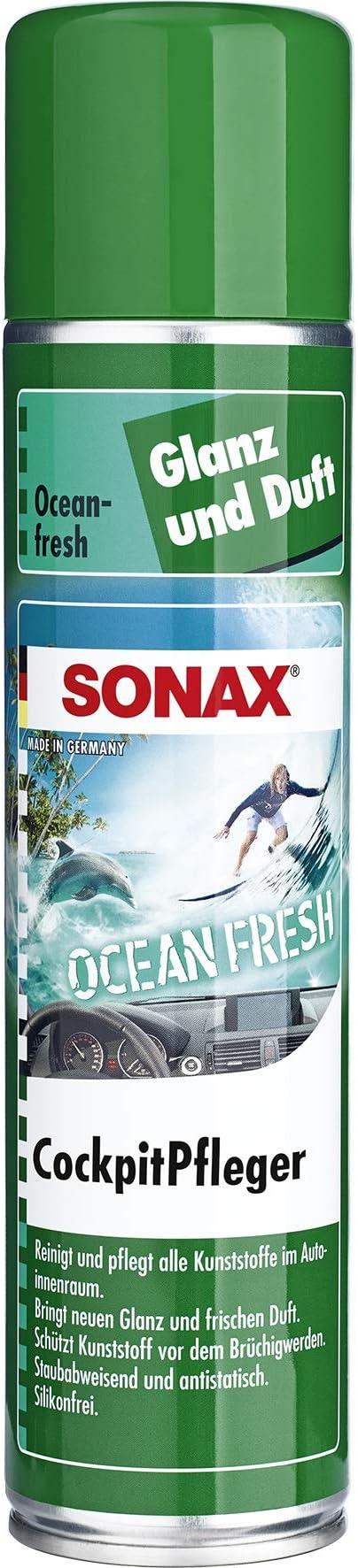 Sonax Cockpitpfleger Ocean Fresh 400 Ml Reinigt Und Pflegt Alle Kunststoffteile Im Auto Art Nr 03643000 Auto