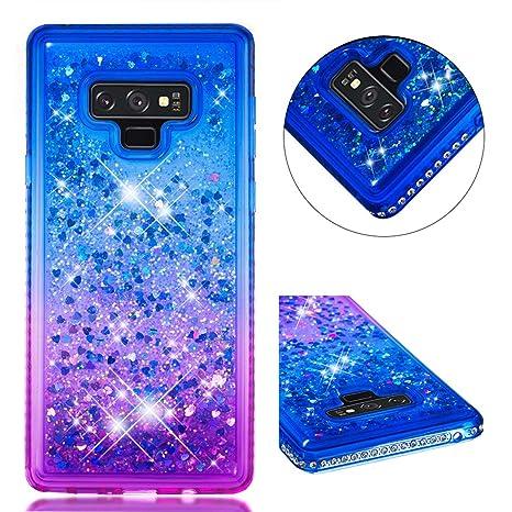 Funda Samsung Galaxy Note 9 Carcasa Purpurina, Lyzwn Samsung ...
