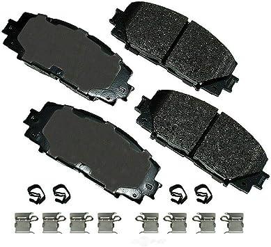 Disc Brake Pad Set-ProACT Ultra Premium Ceramic Pads Front Akebono ACT1184