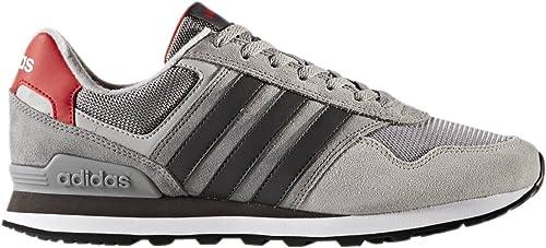 adidas 10K, Zapatillas de Deporte para Hombre, Gris (Gritre/Neguti/Gridos), 49 1/3 EU: Amazon.es: Zapatos y complementos