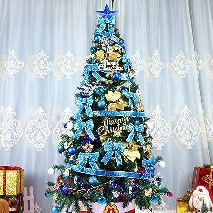 Albero Di Natale Grande.2 1 M Pacchetto Albero Di Natale Grande Deluxe Verde Cifrato Set