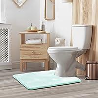 Clara Clark Contour Bath Mat Bathroom Rug - Absorbent Memory Foam Bath Rugs - Non-Slip, Thick, Cozy Velvet Feel…