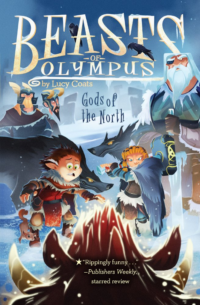 Gods Of The North (Turtleback School & Library Binding Edition) (Beasts of Olympus)