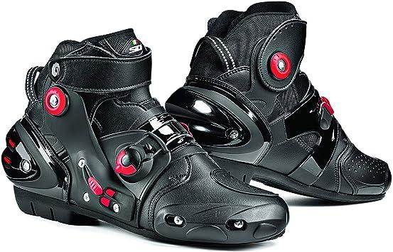 45 Negro Sidi Gas Botas para Motocicleta