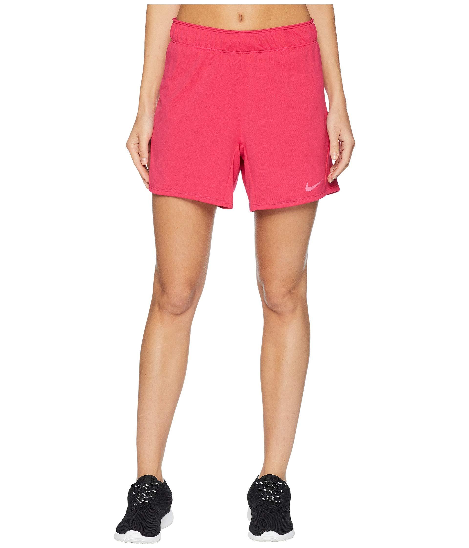 Nike Women's Flex Attack Training Short Rush Pink/Watermelon X-Small 5.5