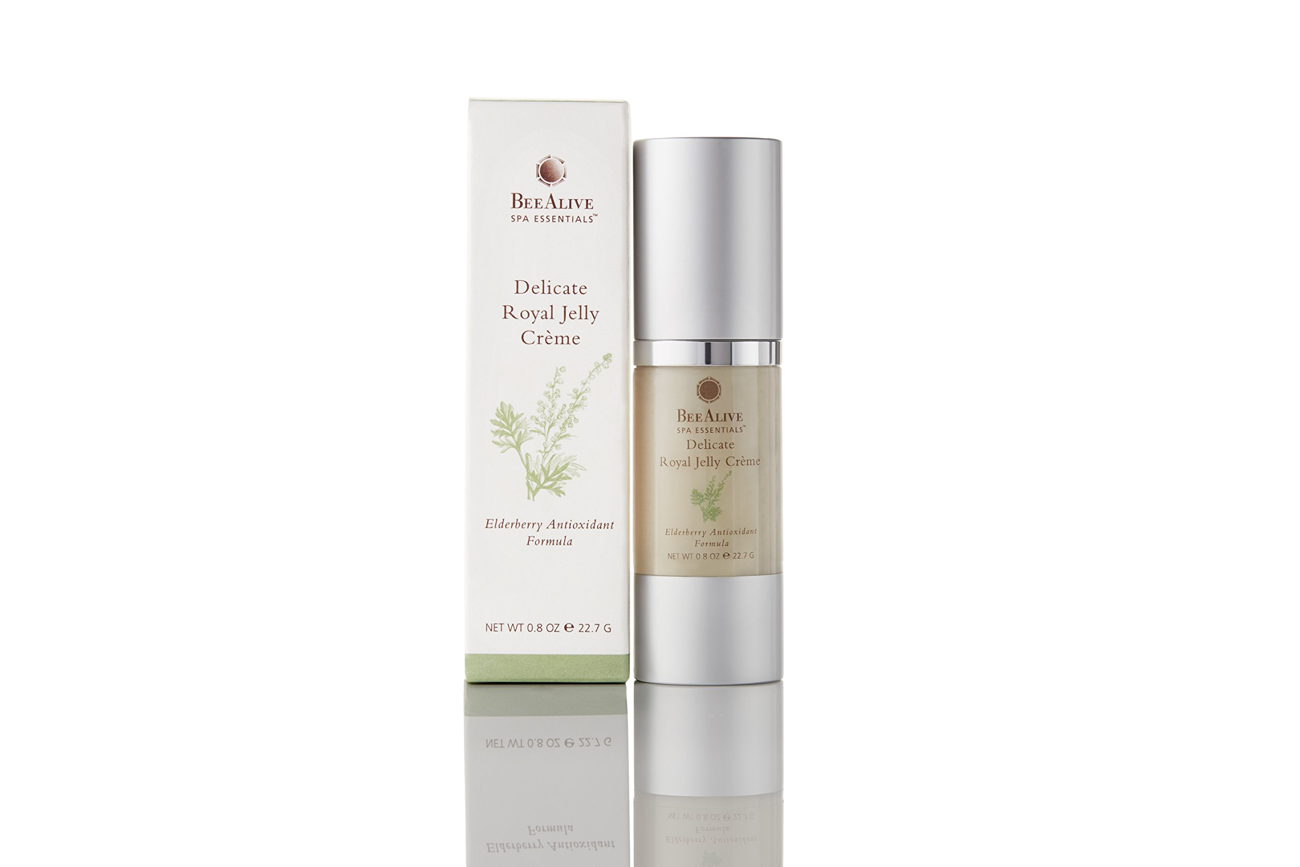 BeeAlive Spa Essentials Delicate Royal Jelly Creme (All-Natural)