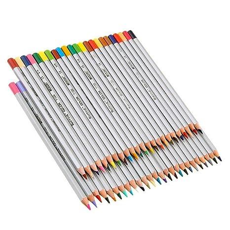 merrybiy Art Base de aceite de dibujo lápices de colores 7100 marco ...