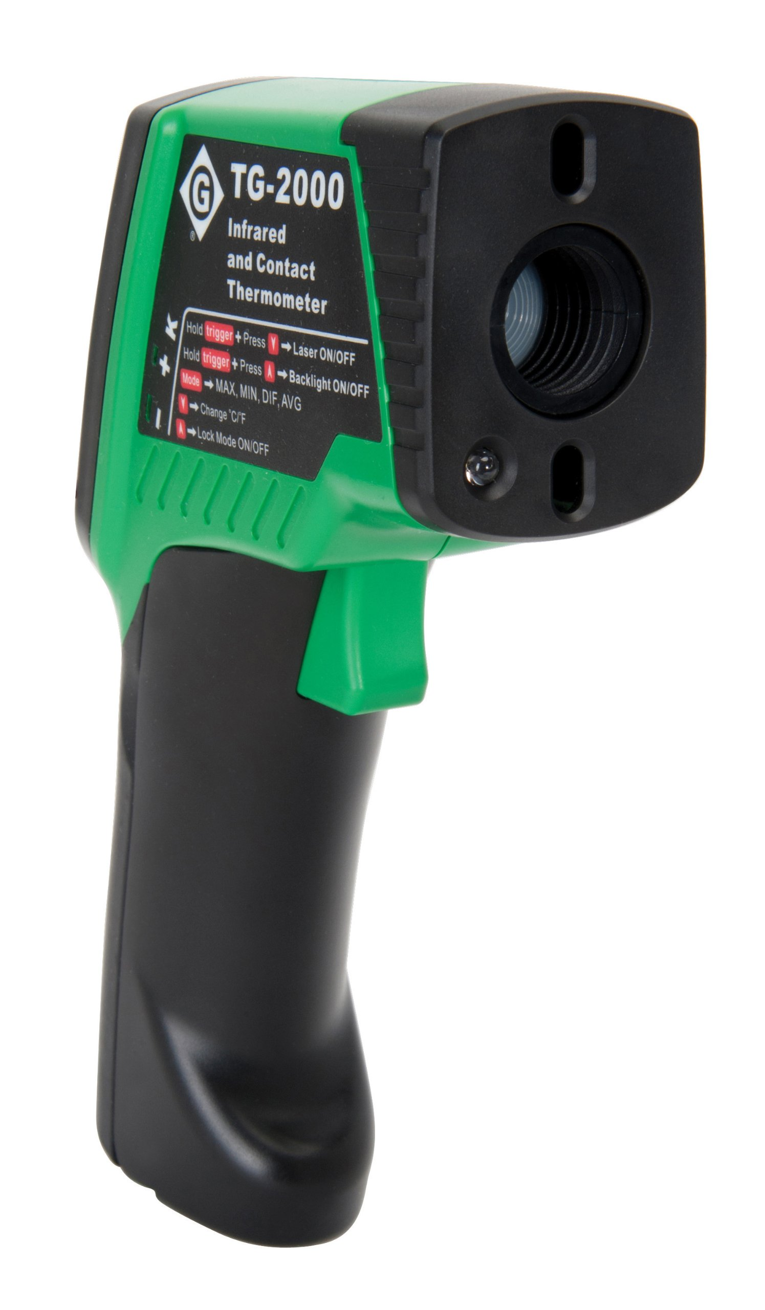 Greenlee TG-2000 Dual Laser Infrared Thermometer by Greenlee (Image #2)
