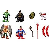 Fisher-Price Jouet–Imaginext DC Comics Super Friends Heroes Ensemble Figure–Batman–Superman–Hawkman