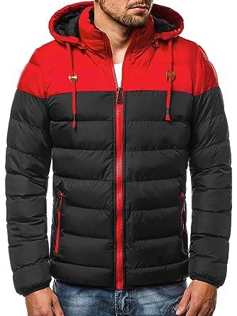 OZONEE Herren Winterjacke Parka Jacke Kapuzenjacke Wärmejacke Wintermantel  Coat Wärmemantel Warm Modern Täglichen G 50A132  Amazon.de  Bekleidung 540af00ee8