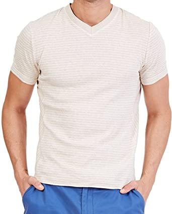 Nautica Mens Slim Fit Striped T-Shirt