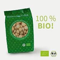 Mundo Feliz - Nueces de macadamia ecológicas crudas